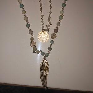 Jewelry - Layered Pendant Necklace